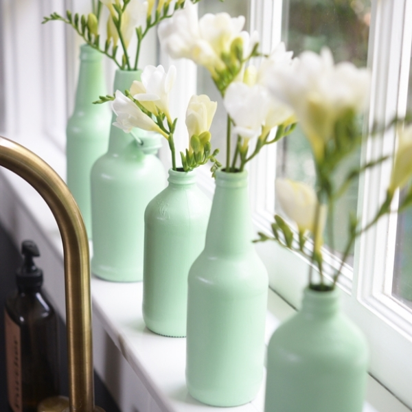 Friday Favorites Mint bottles for Spring