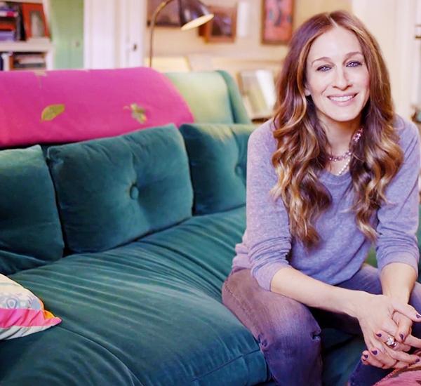 Sarah Jessica Parker Home Interview