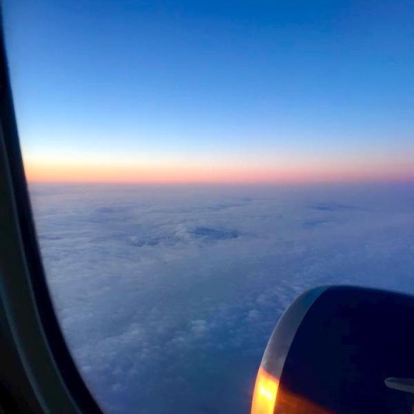 Sunrise over Madrid