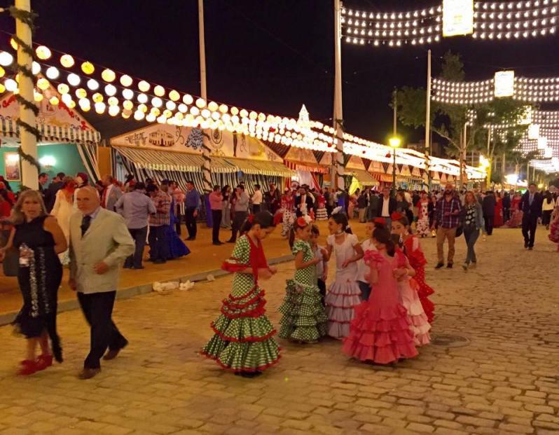 Feria de Abril Sevilla Flamenco Dresses