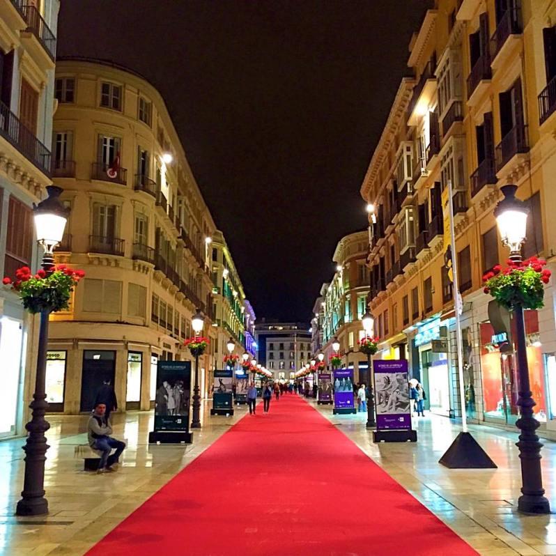 Centro de Málaga Red Carpet
