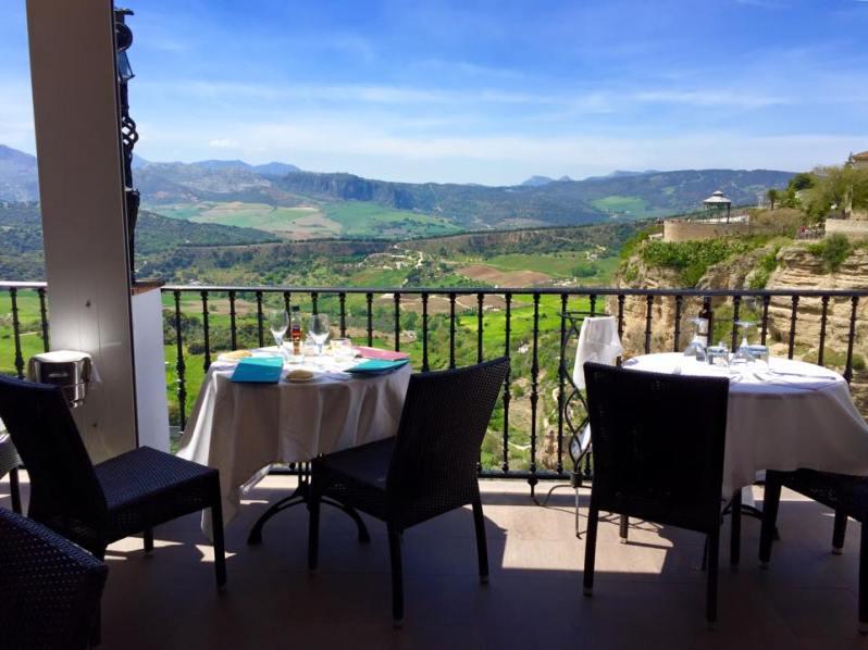 Restaurant in Ronda Spain