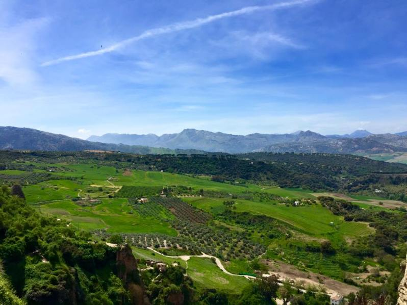 Amazing view in Ronda Spain