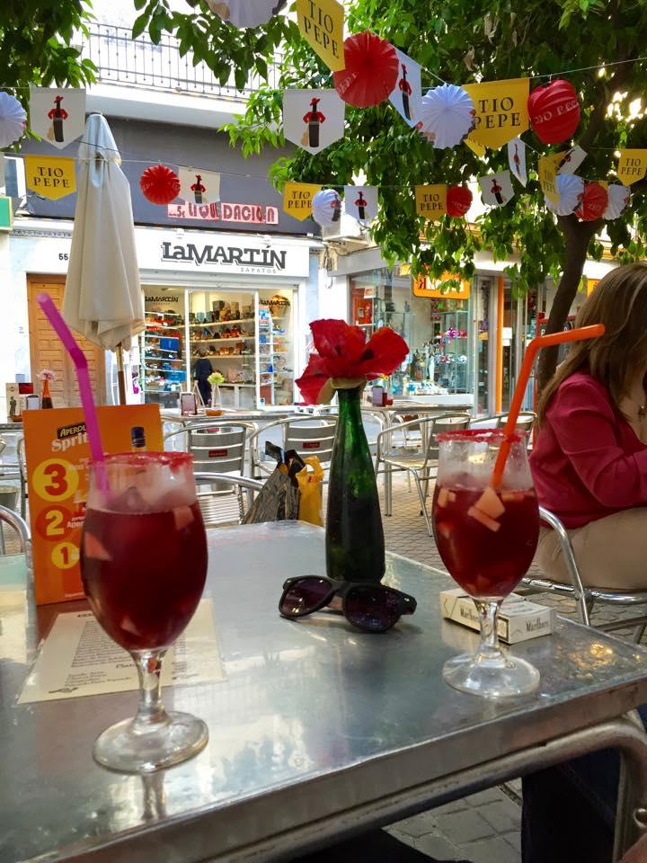 Sangria in Seville